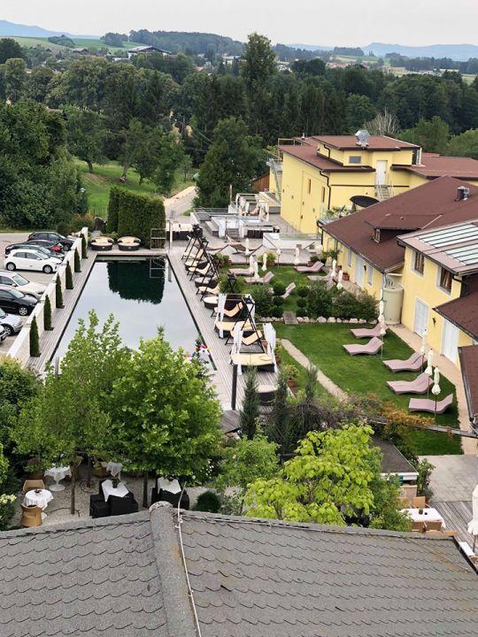 Gartenanlage Hotel Winzer Wellness & Kuscheln