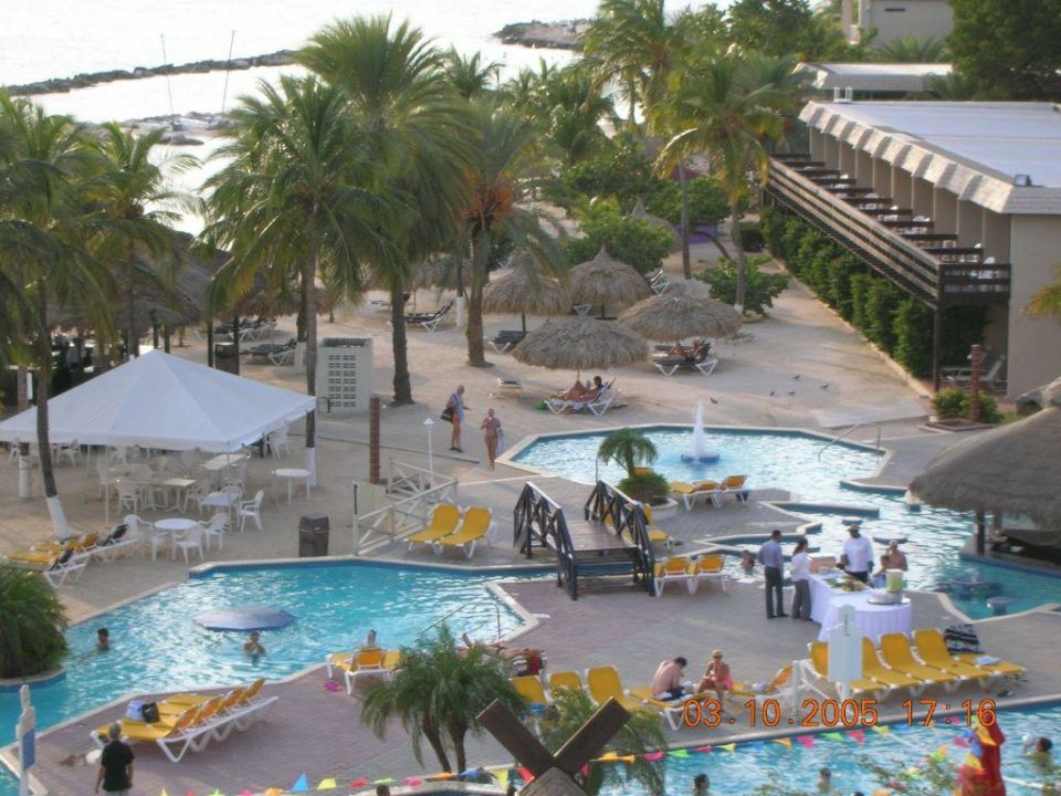 Poolanlage Hotel Breezes Sunscape Curaçao Resort, Spa & Casino