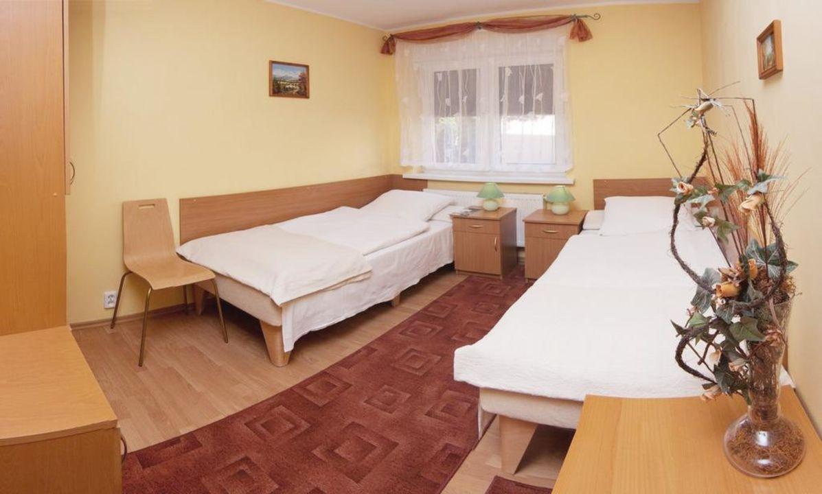 Wnętrze jednego z pokojów Guesthosue Pod Brzozami