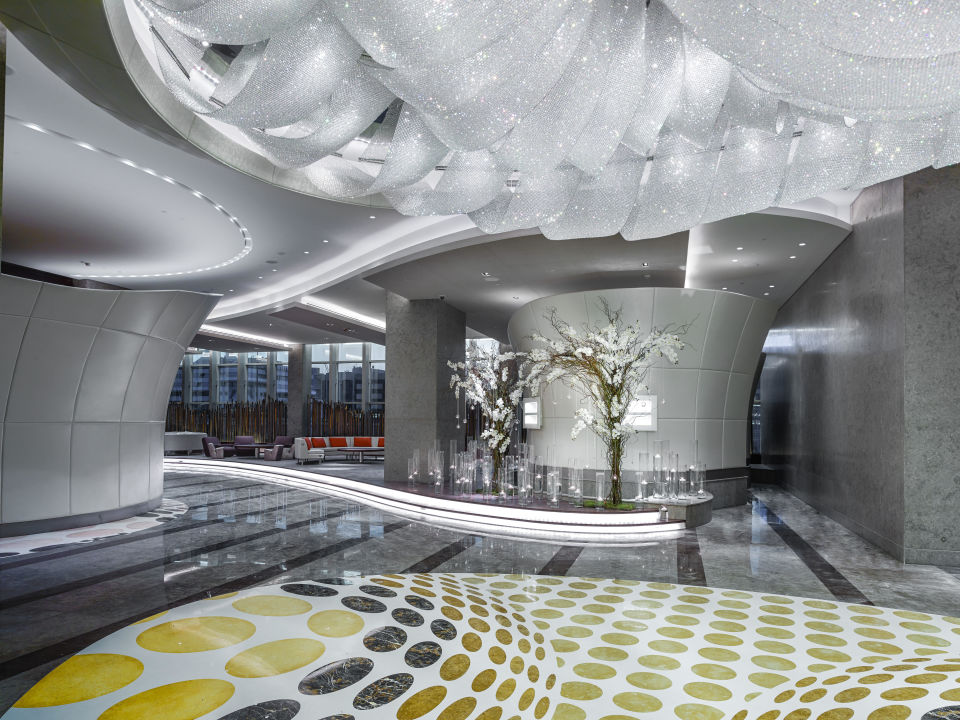 Lobby Sofitel Hotel Dubai Downtown