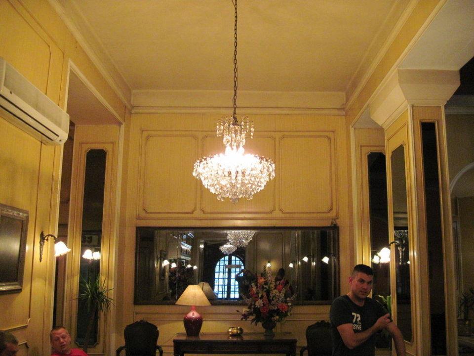 Eingangsbereich Hotel Victoria