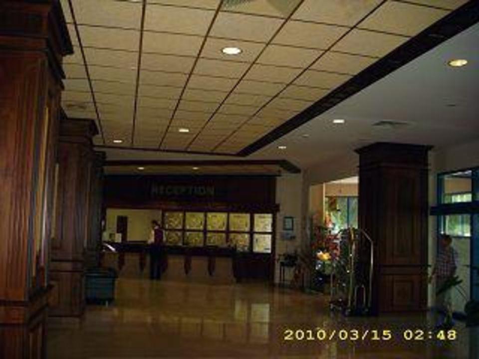 Die Rezeption Hotel Grifid Arabella