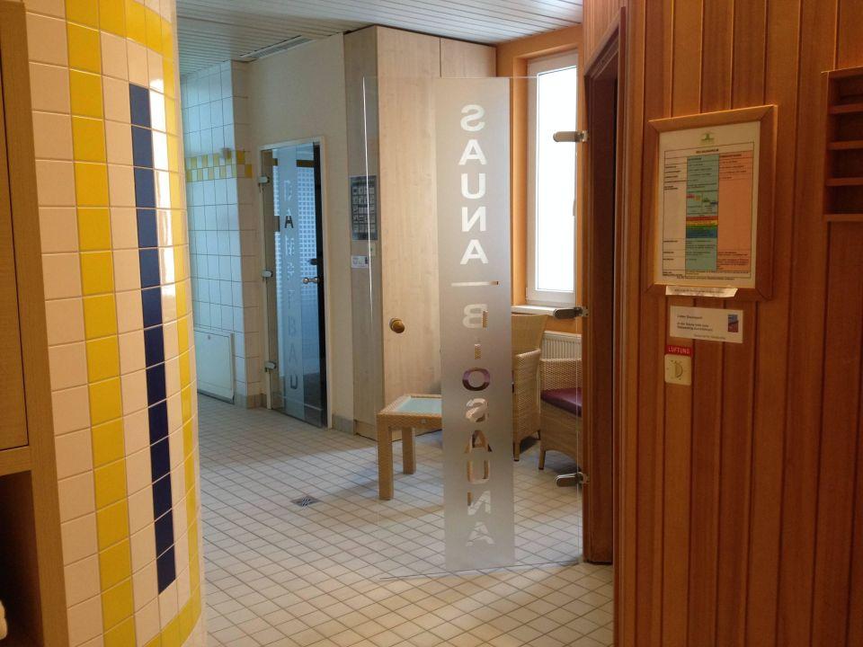 Saunabereich CURHAUS Bad Mühllacken