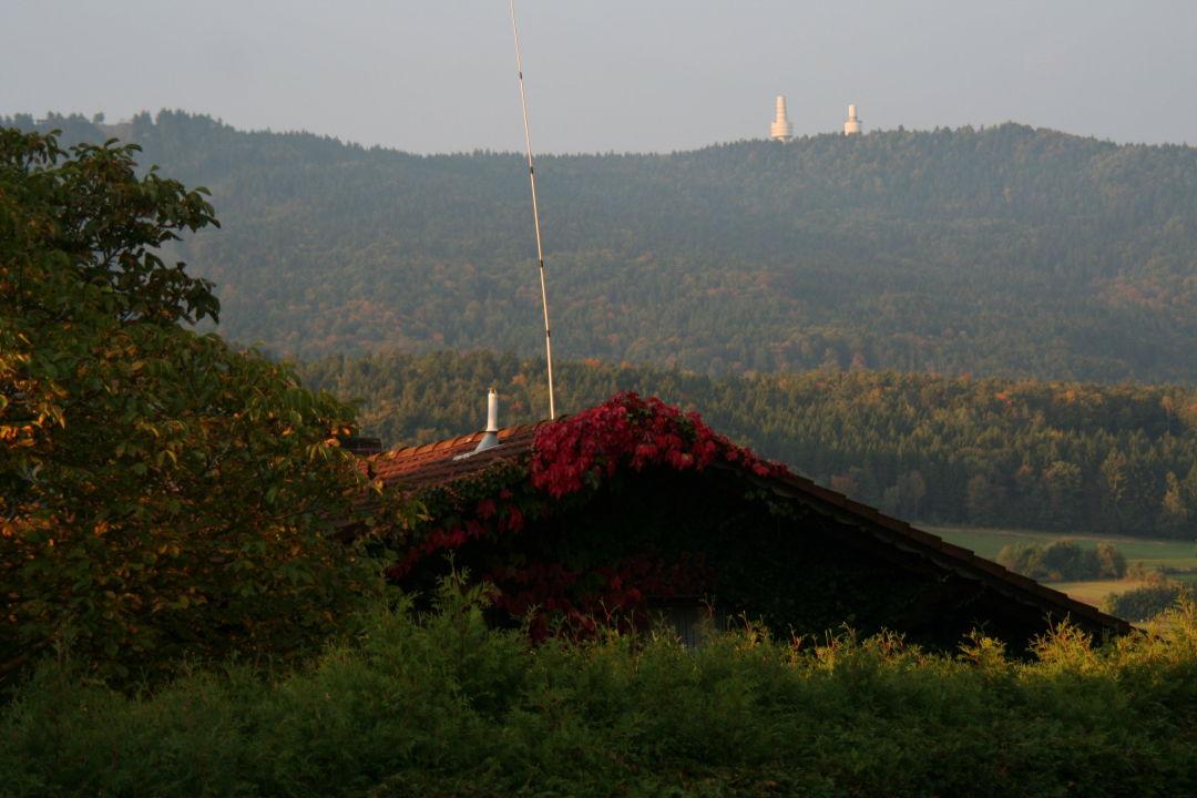 Die 2 Nato Türme auf dem Hohen Bogen  Hotel-Gasthof Zum Bach