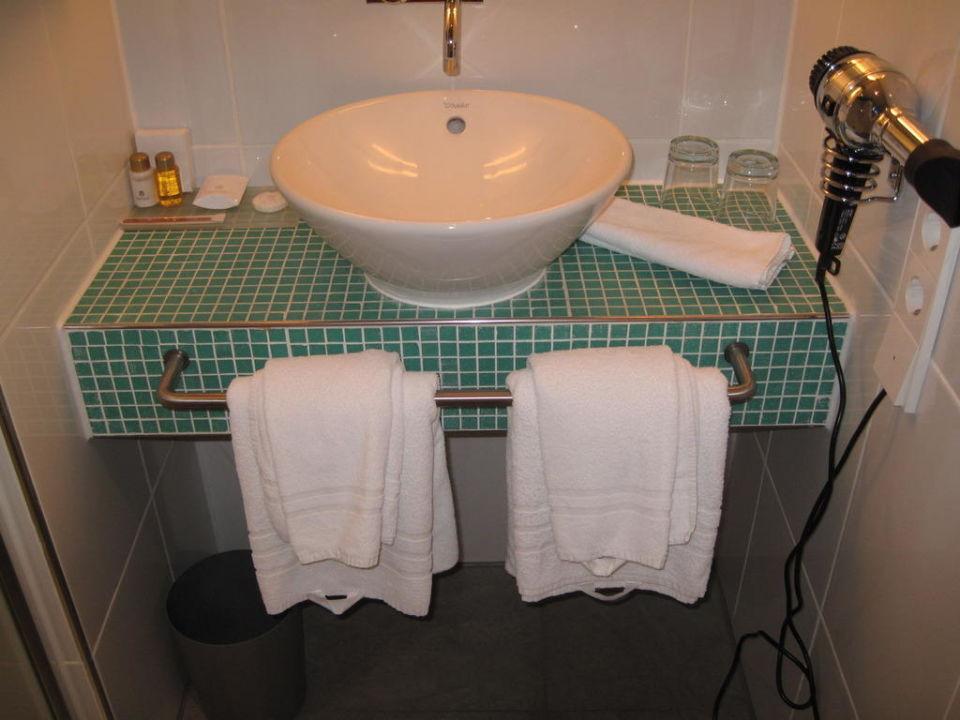 Badezimmer Hotel Santo