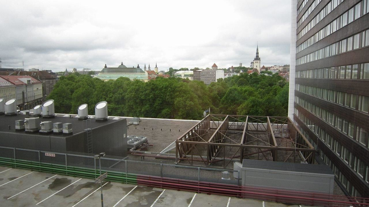 View from Solo room #828 Solo Sokos Hotel Estoria