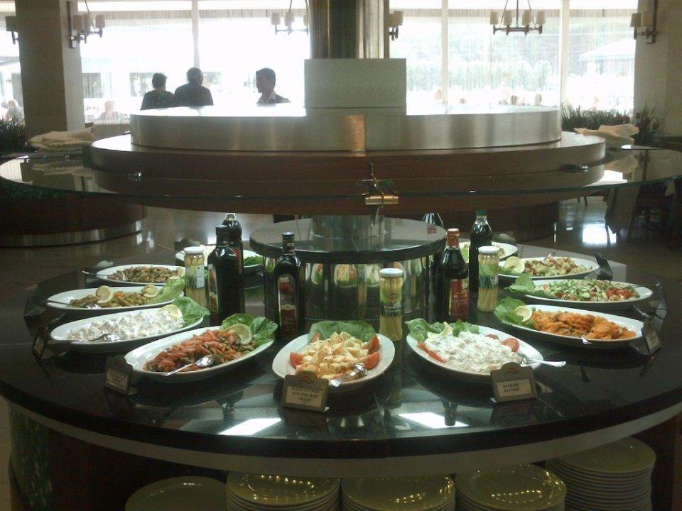 Teil des Salatbuffet Innvista Hotels Belek