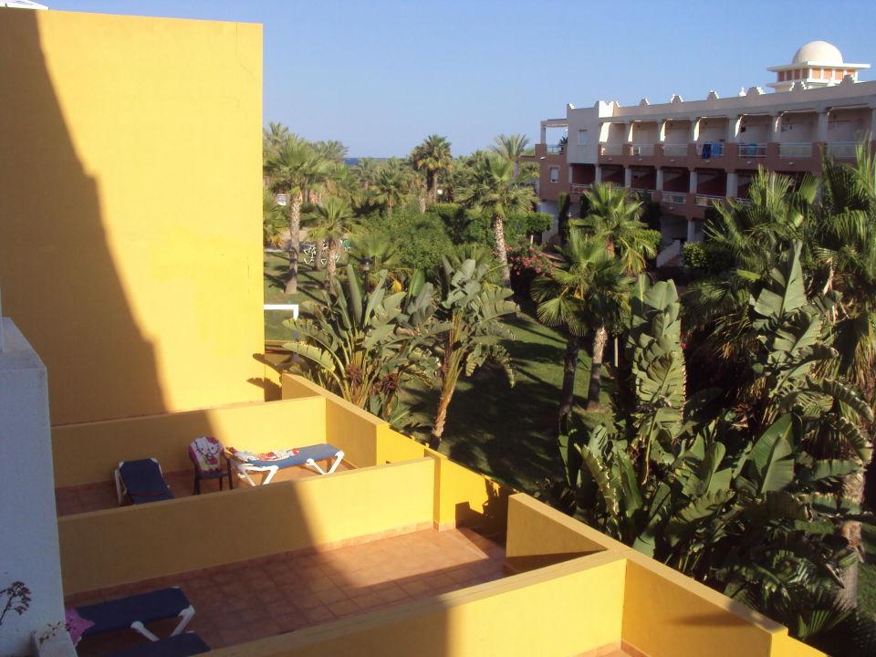 Desde la habitación Zimbali Playa Spa Hotel