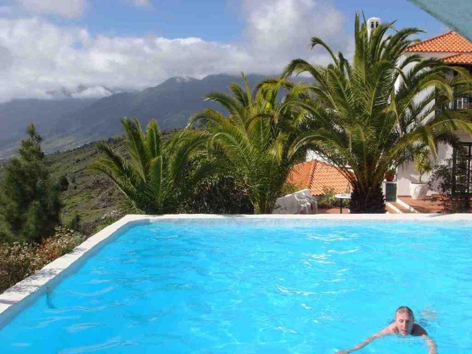 Ausblick vom Pool Finca La Brevera