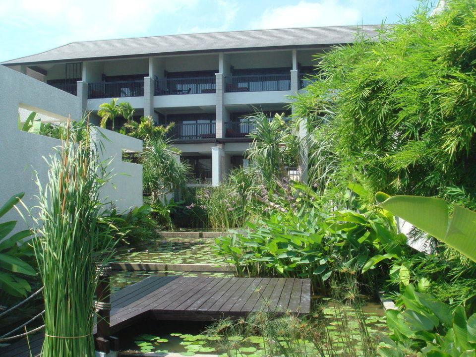 Der feste Gebäudeteil des Hotels Hotel Sareeraya Villas & Suites