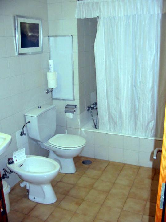 Badezimmer eines Appartements der Hotelanlage Barcarola Apartamentos Barcarola Club