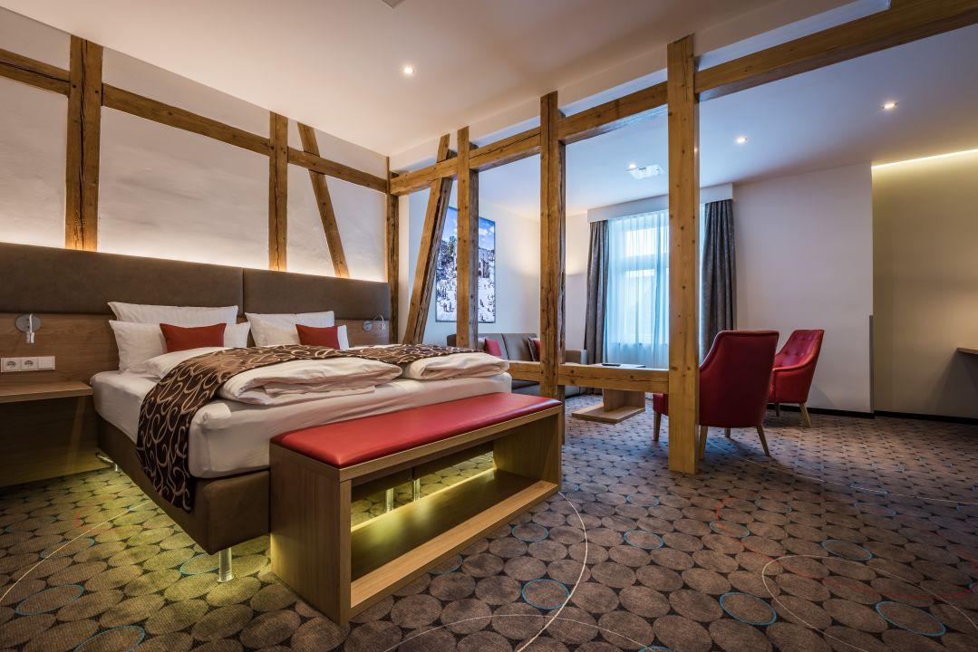 Zimmer AKZENT Hotel Villa Saxer