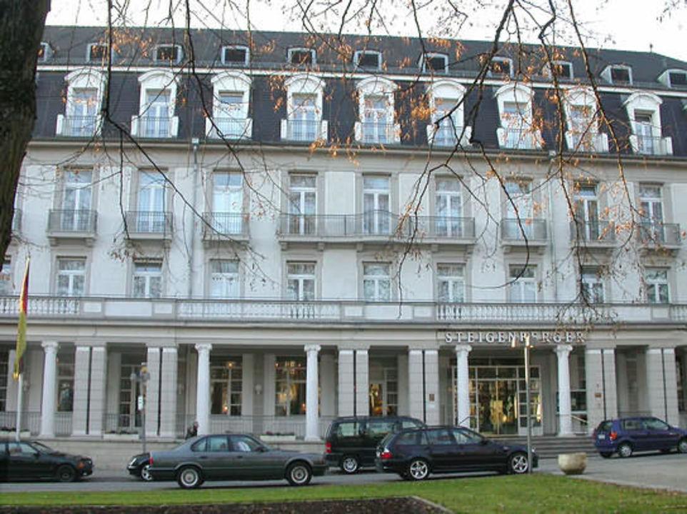 Hotel Steigenberger Bad Pyrmont, Vorderseite Steigenberger Hotel & Spa Bad Pyrmont
