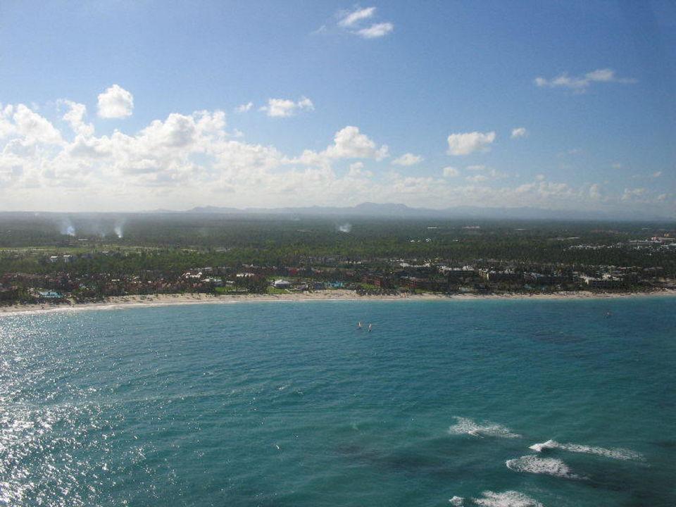 Blick auf den Strand Grand Palladium Bávaro Suites Resort & Spa
