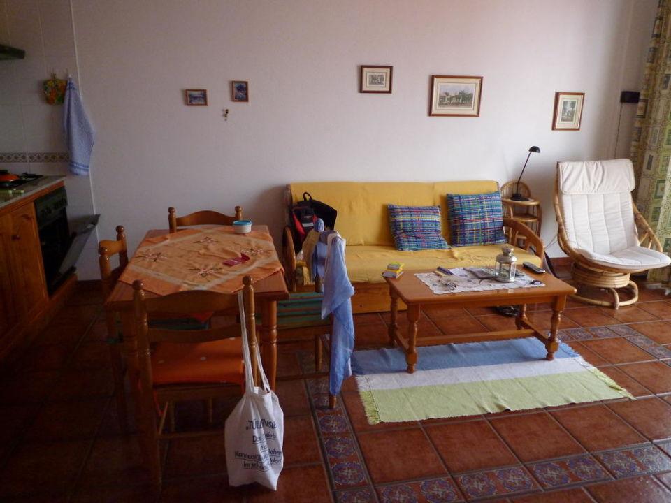 Wohnzimmer Hotel Piedra Verde