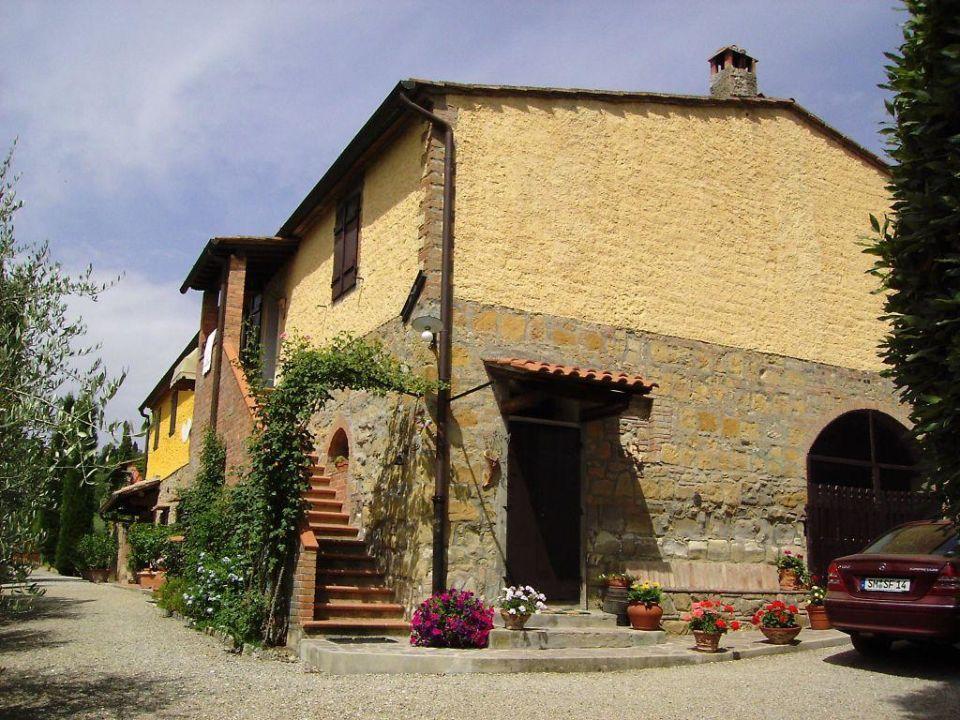 Aussenansicht Casa Spini Hotel Pozzo Chiaro