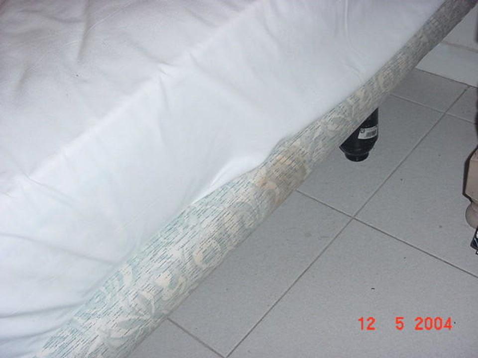 verdrecktes Bett Aparthotel Bitacora Lanzarote Club