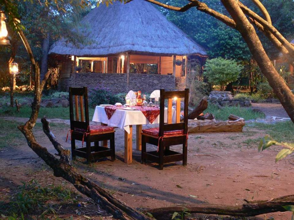 Dinner for 2 Mara Timbo Camp