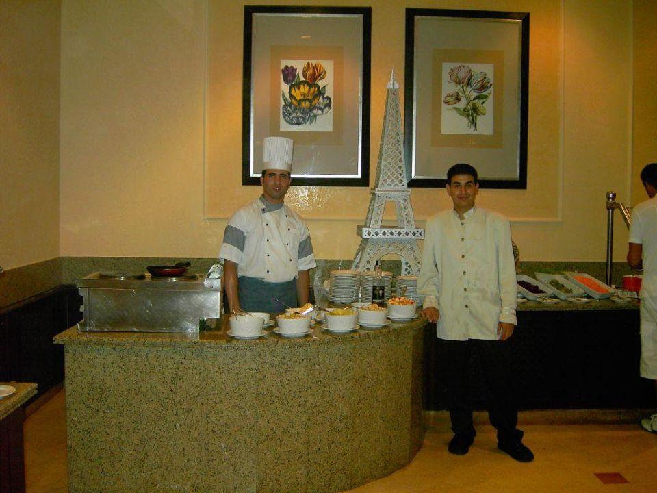 Buffet abends - Teil 4 Hotel JAZ Makadi Star & Spa