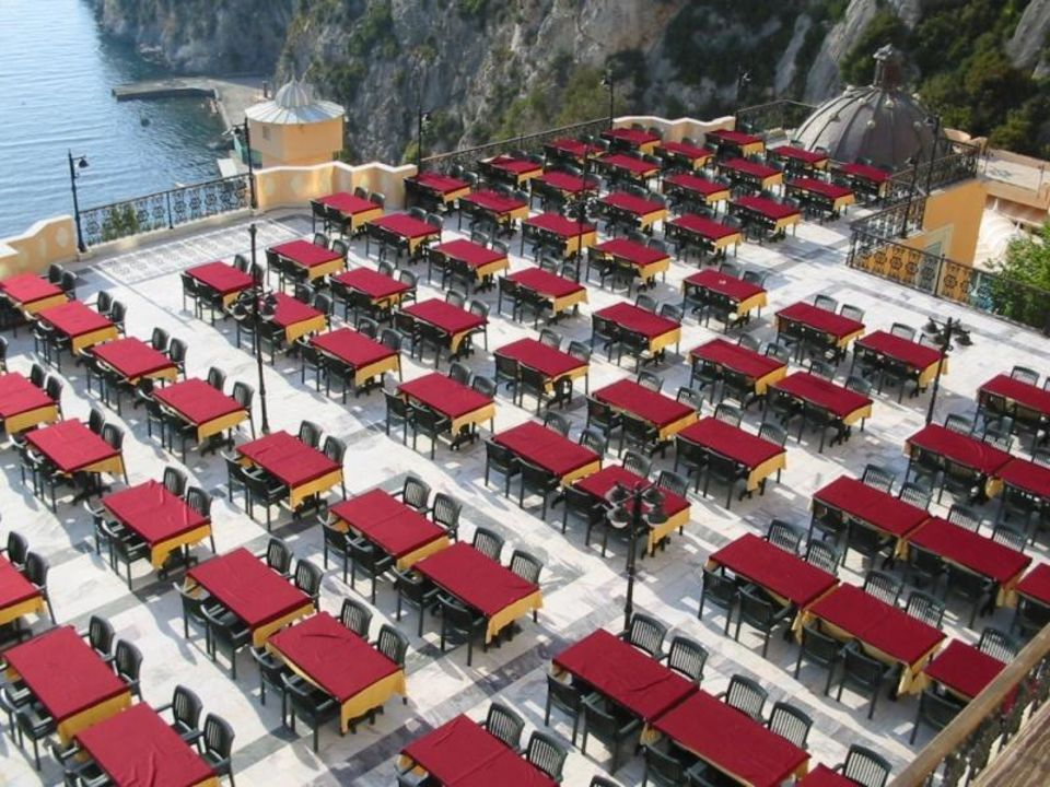 Außenrestaurant mal anders Alkoçlar Adakule Hotel