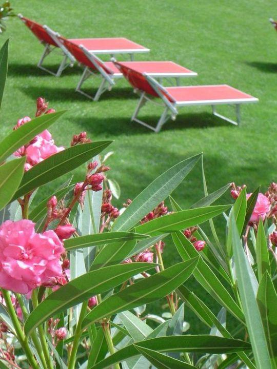 Gartenbereich Hotel Garni Hubertus