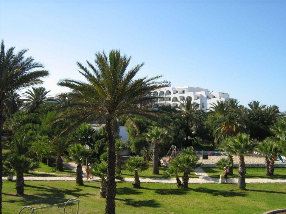 Blick vom Balkon Zimmer 463 Marhaba Resort