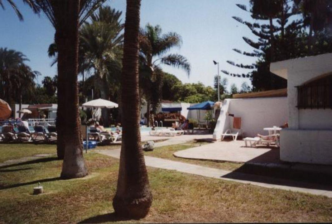 Garten HD Bungalows Parque Cristobal Gran Canaria