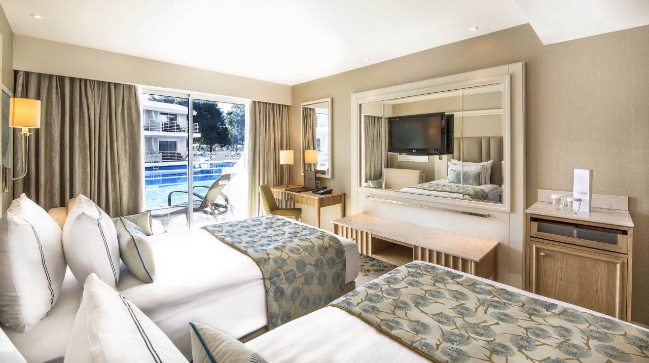 Remodeled Annex Standard Rooms Poolview Titanic Beach