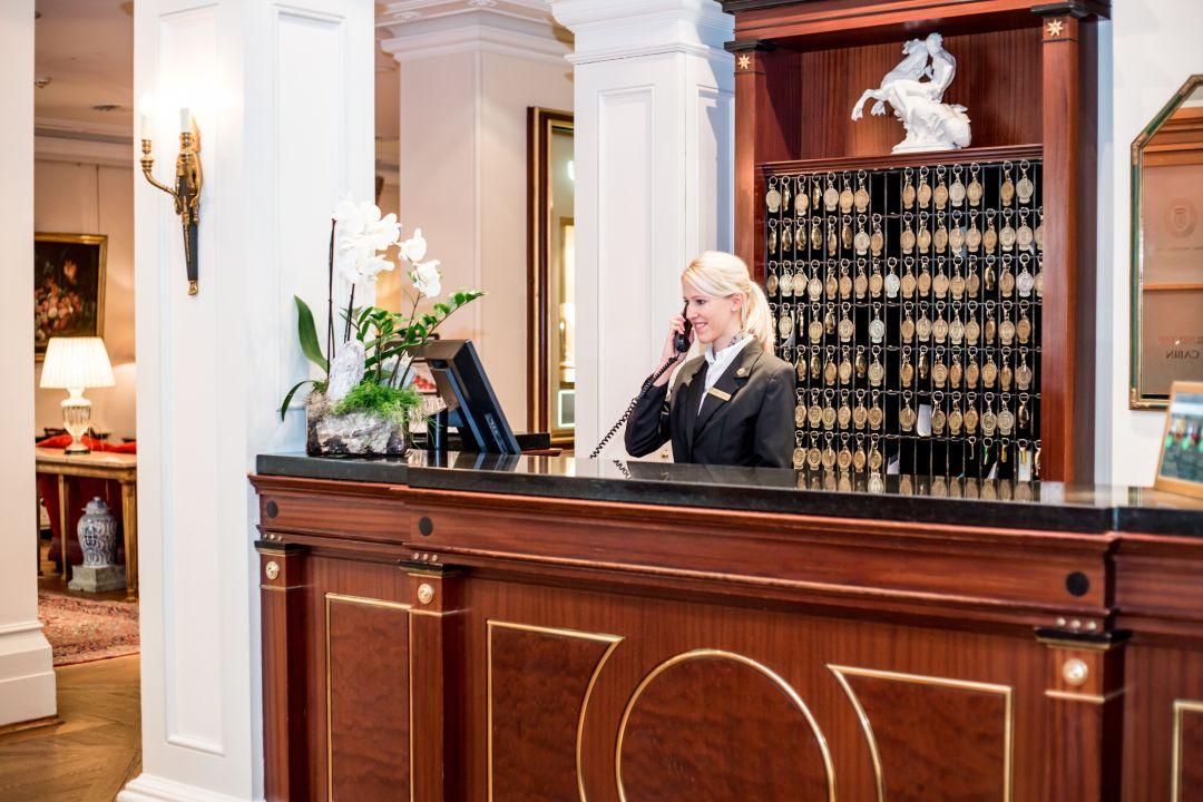 Lobby Grandhotel Hessischer Hof