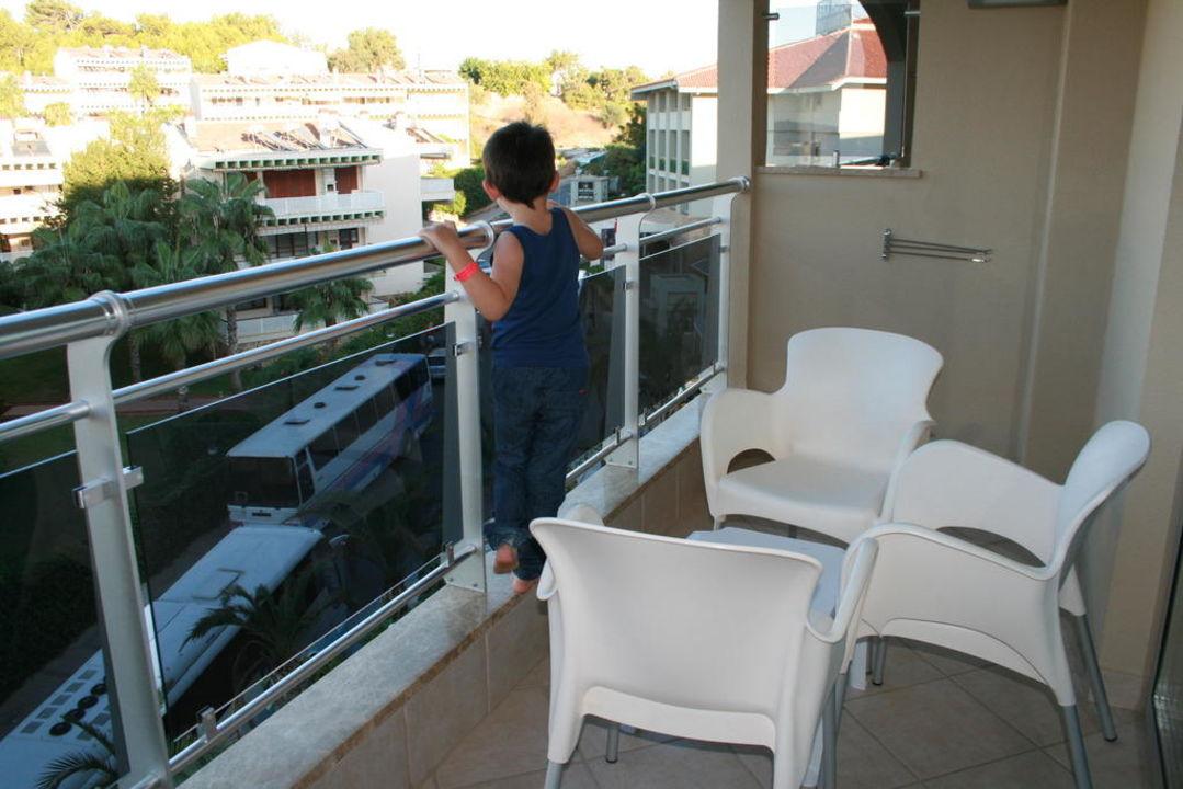 Blick vom Balkon Kirman Leodikya Resort