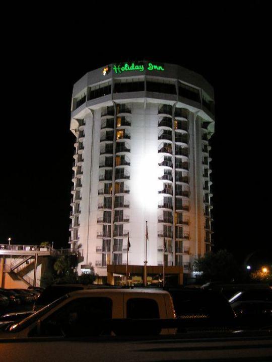 Hotel Holiday Inn in Charleston bei Nacht Hotel Holiday Inn Charleston Riverview