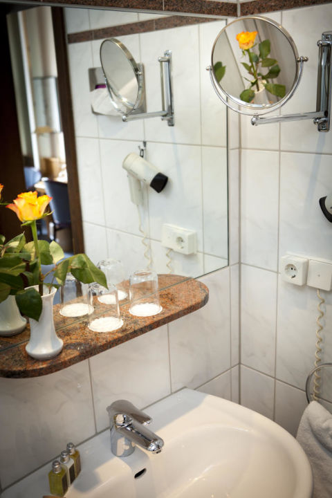 Badezimmer Hotel Borchers