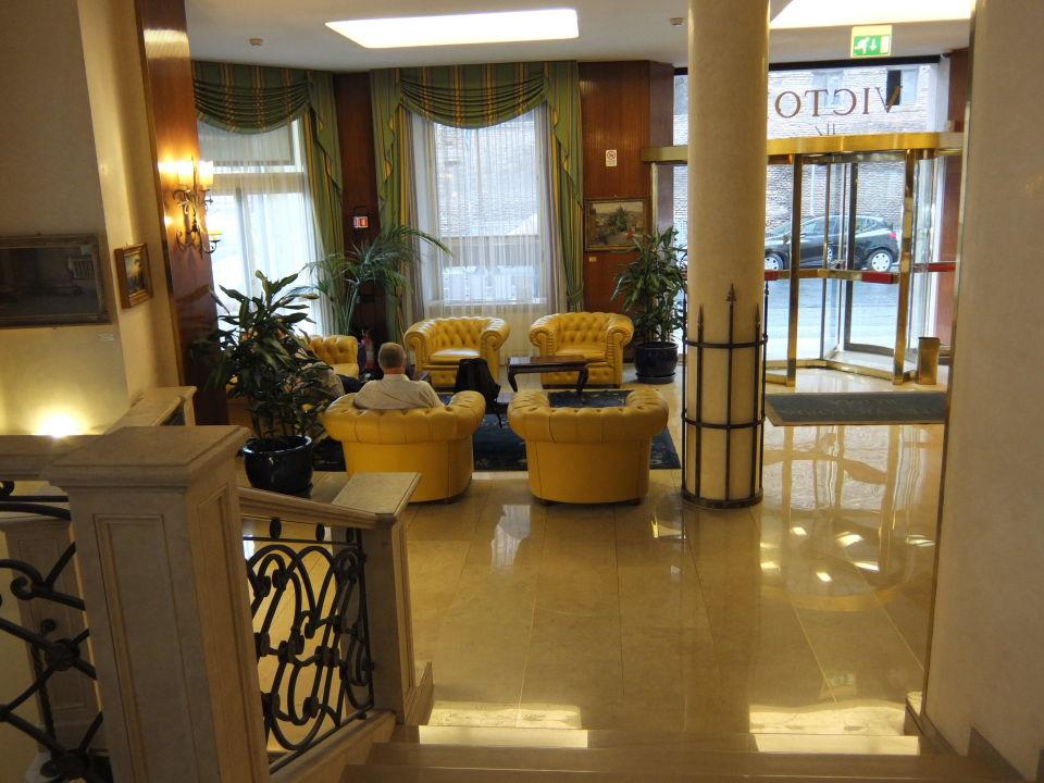Lobby Hotel Victoria Roma