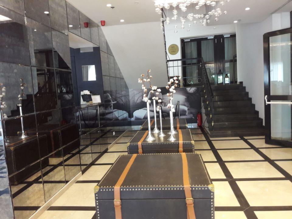 Lobby Grand Hotel Slavia