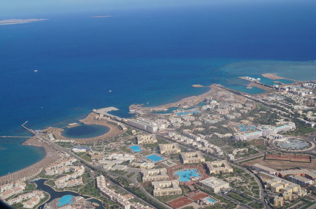 Vid Iz Okna Samoleta Desert Rose Resort Hurghada Holidaycheck