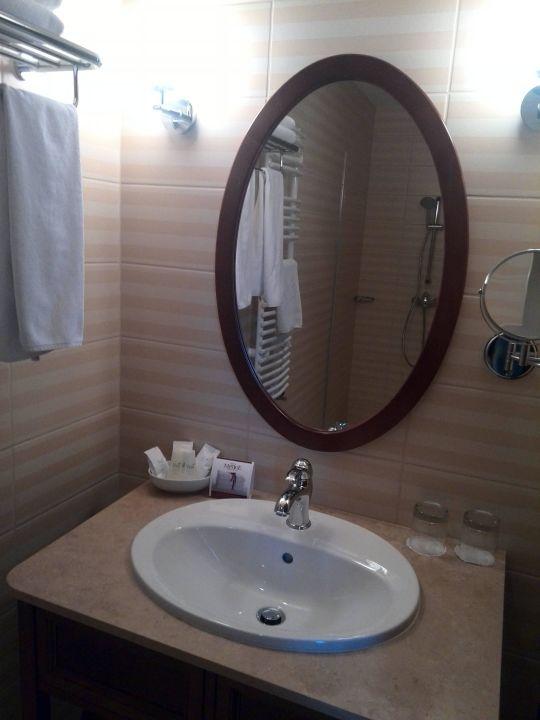 Kleines aber feines Badezimmer Mirage Fashion Hotel