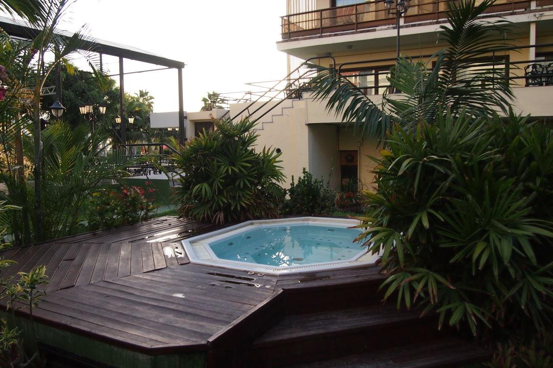 """whirlpool im garten hinter dem hotel"""" hotel vallemar in puerto de, Garten und bauen"""