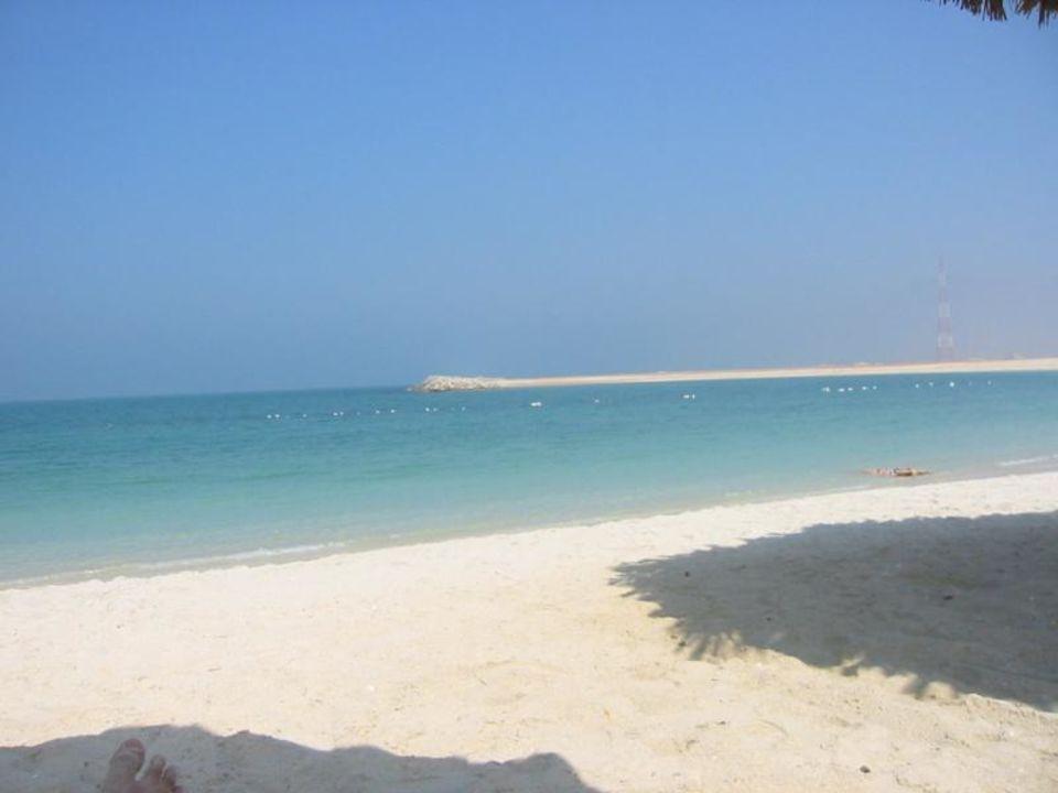 Strand vom Hilton Beachclub Hilton Ras Al Khaimah Resort & Spa