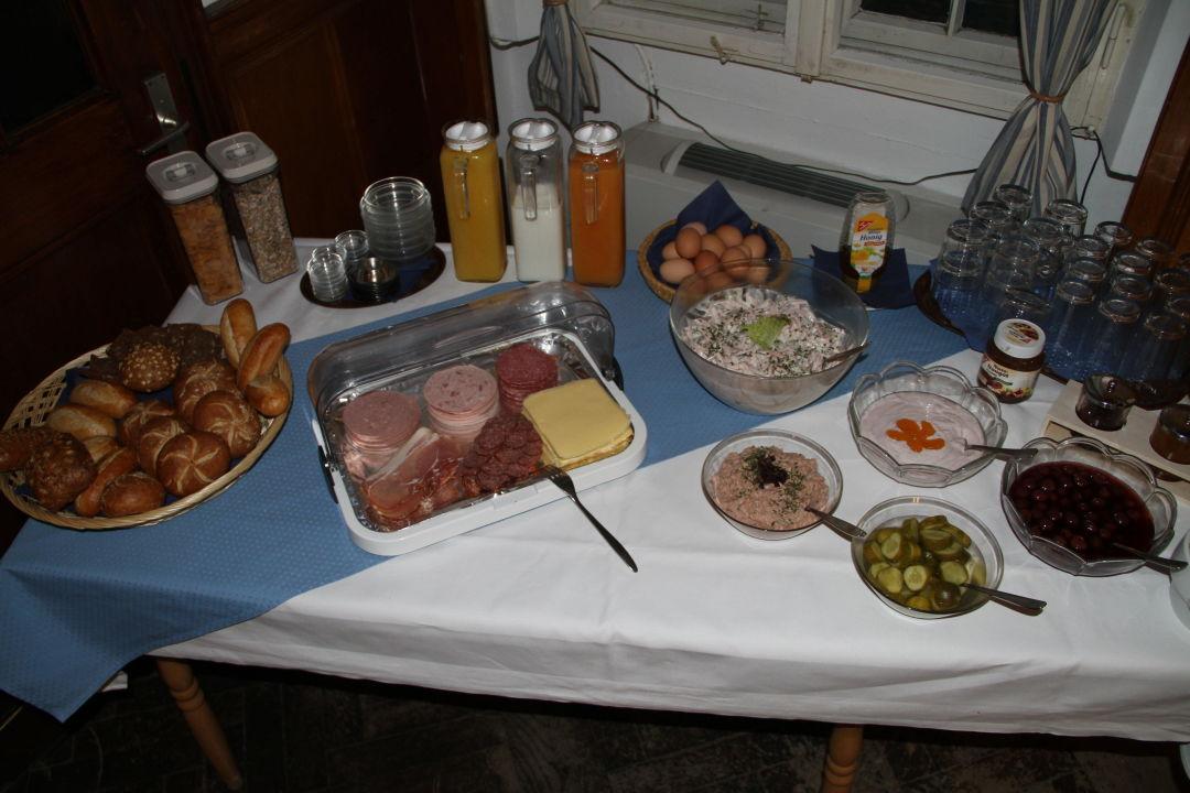 Unser Frühstück Gasthof Zum Brandenburger