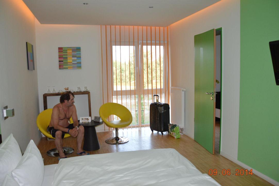 zimmer aussen im anbau tropical islands resort krausnick holidaycheck brandenburg. Black Bedroom Furniture Sets. Home Design Ideas