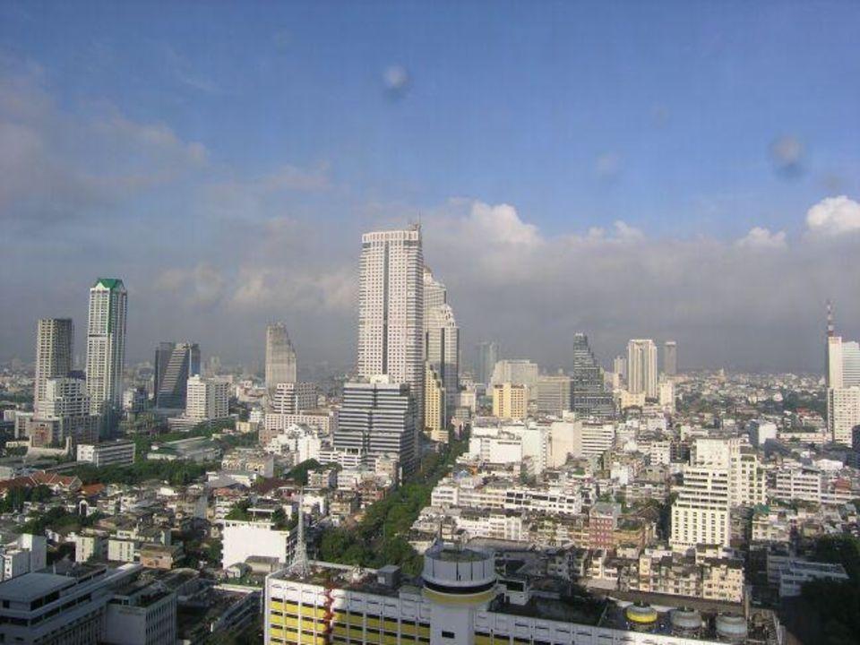 Sofitel Silom - Ausblick aus dem Clubzimmer (27. 0G) Hotel Pullman Bangkok Hotel G