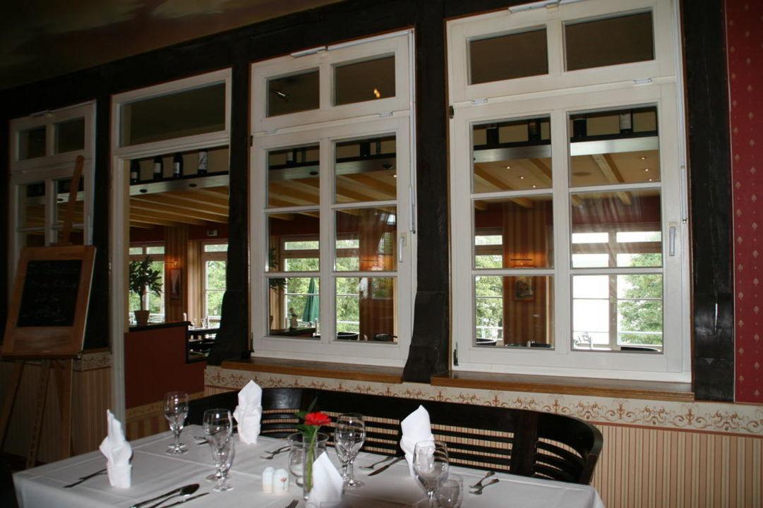 Das schöne Restaurant Familotel Borchard's Rookhus am See