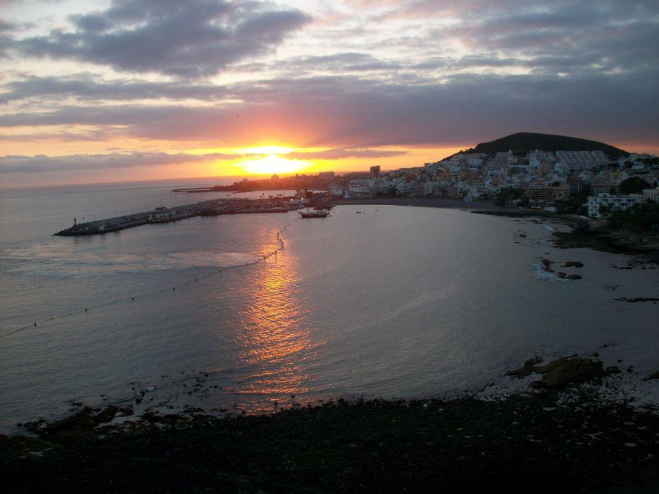 Sonnenuntergang vom Balkon aus Aparthotel Costa Mar