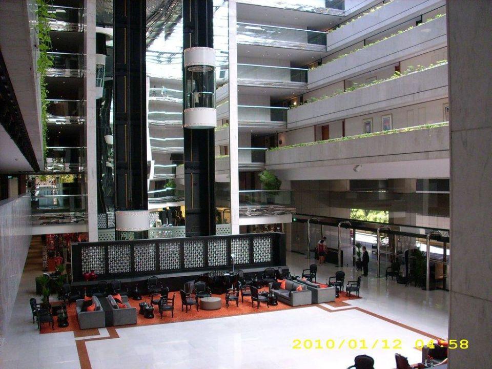 Nochmal Blick in die Lobby Concorde Hotel Singapore