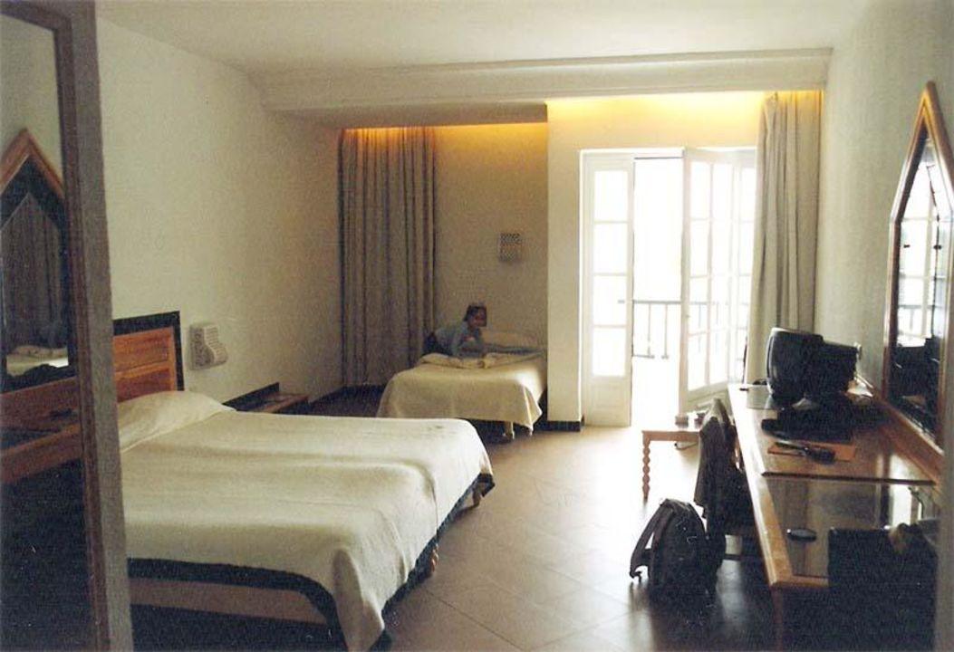 Zimmer innen Hotel Fatimi Garden