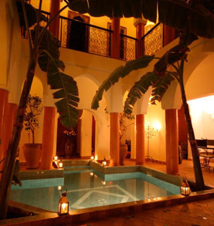 Patio nuit Hotel Riad Al Tainam