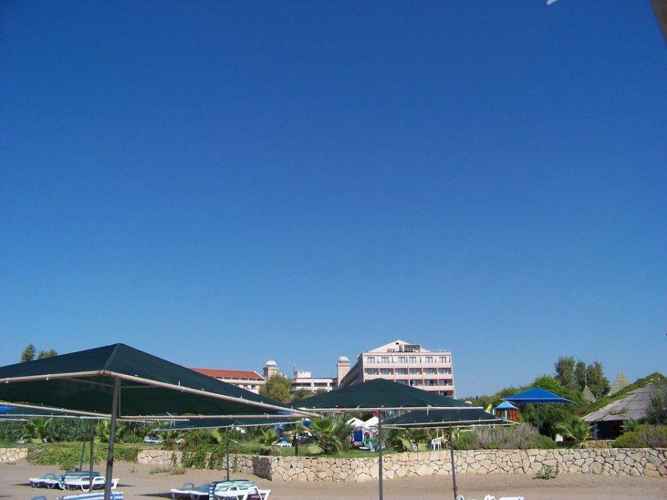 Ansicht vom Strand Kaya Belek Hotel