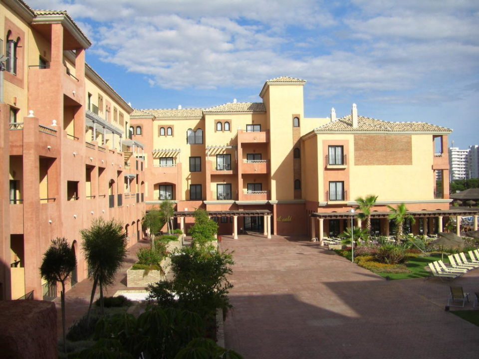 Innenhof Barcelo Punta Umbria Beach Resort