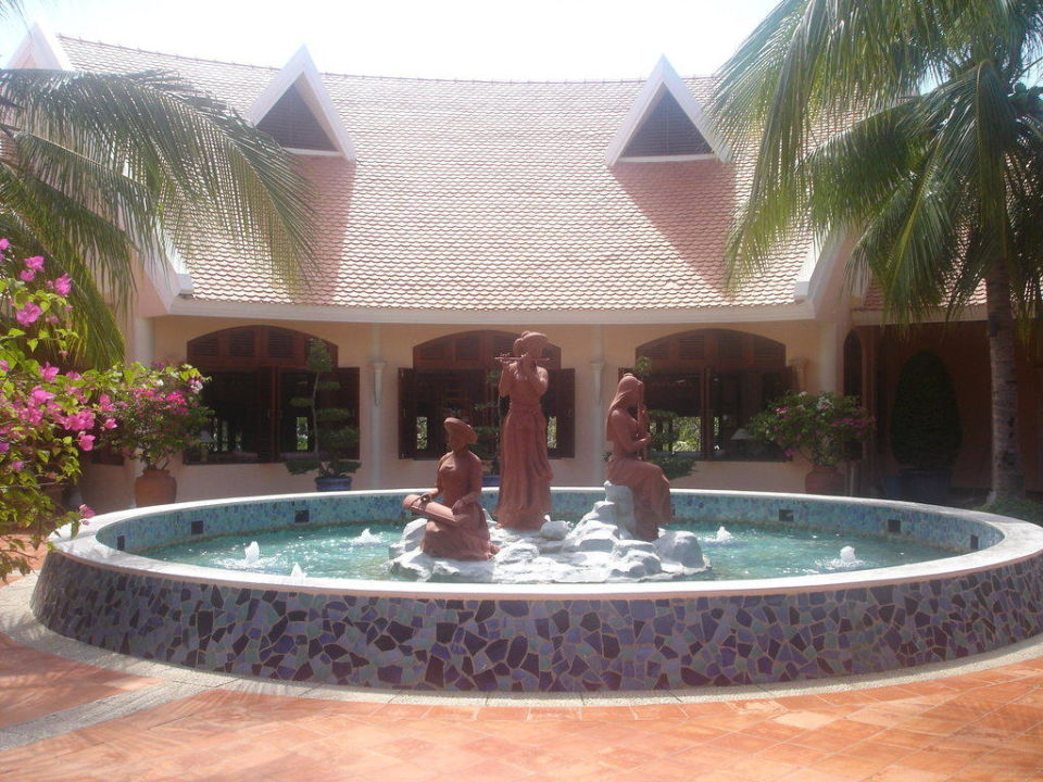 Eingang Hotel Phu Hai Resort