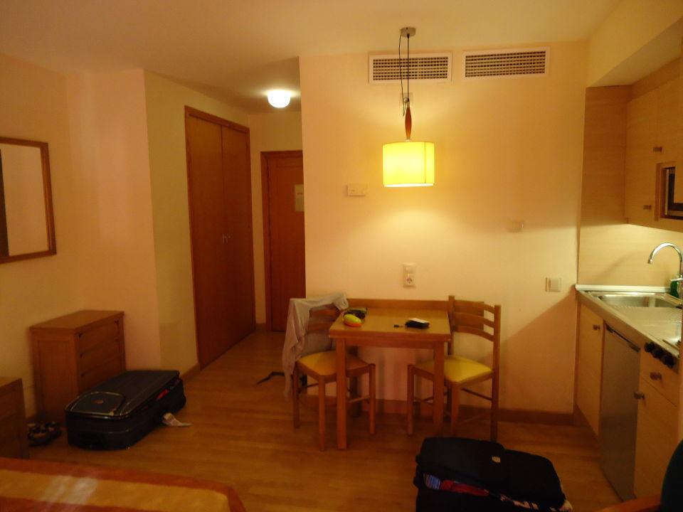 wohn und schlafzimmer studio hotel viva sunrise in